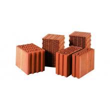 Красный керамический блок